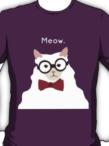 P. Alderman the White Cat T-Shirt