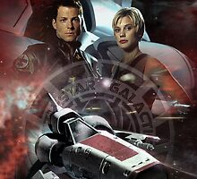 Battlestar Galactica by redmenace