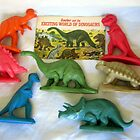 Sinclair  and the EXCITING WORLD OF DINOSAURS - 1967 by spiritsfreedom