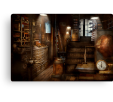 Steampunk - Tool room of a mad man Canvas Print
