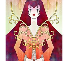Anthrocemorphia - Queen of Diamonds by Sophia Adalaine Zhou