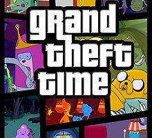 Adventure Time - Grand Theft Time by MonHood