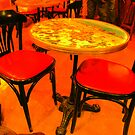 Cafe Rouge - Rouen, France by Deanna Roberts Think in Pictures