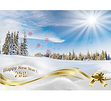 Great background image for creating Holiday Greeting postcards or computer wallpapers Photographic Print