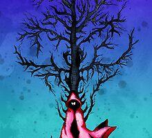 Red Riding Hood Big Bad Wolf by LVBART