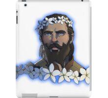 Flower Crown - Blackwall iPad Case/Skin