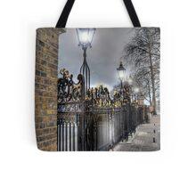 Greenwich Park Gates Tote Bag