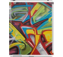 Abstract Colors Close Up iPad Case/Skin