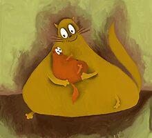 mother and a child by Anastasiia Kucherenko