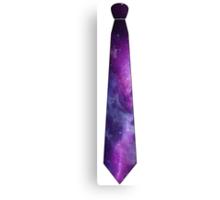 Galaxy Tie Canvas Print