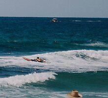 A typical Australian beach scene - summer. by strangerandfict