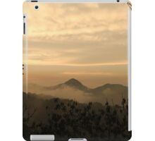 Dusk In The Mountains iPad Case/Skin