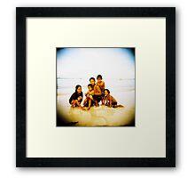 Pinoy Kids Framed Print