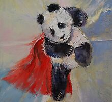 Panda Crime Fighter by Michael Creese
