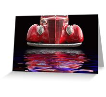 Red Hot Ford Greeting Card