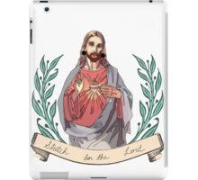 Stretch for the Lord  iPad Case/Skin