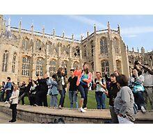 The Tourists (Windsor, 2014) Photographic Print