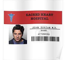 Scrubs - John Dorian M. D. Poster
