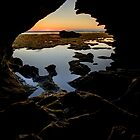 View from the cave by collpics
