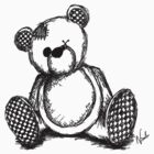 Teddy Bear Sketch by Nicole Tattersall