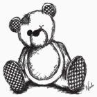 Teddy Bear Sketch by Nicole Tattersall