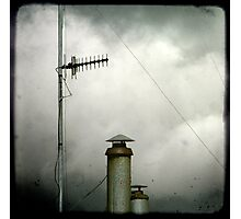 Aerials & Chimneys Photographic Print