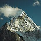 Ama Dablam (6812 metres), Nepal by Hugh Chaffey-Millar