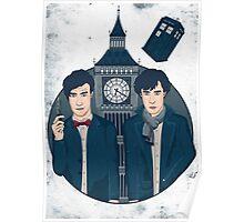 Doctor Who & Sherlock Poster