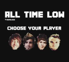 All Time Low Pixel Video Game by killjoyidiot