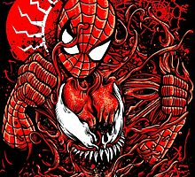 Spiderman vs Carnage by Crab-Metalitees