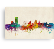 Sheffield England Skyline Canvas Print
