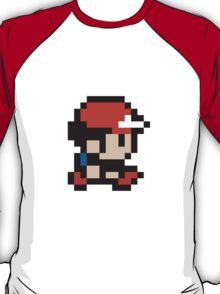Ash Ketchum - Pokemon - Pixel T-Shirt