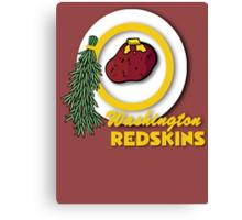Potato Redskins Canvas Print
