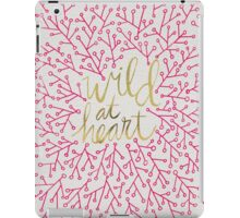 Wild at Heart – Pink & Gold iPad Case/Skin