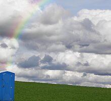 My Rainbow Pot by Maria Dryfhout