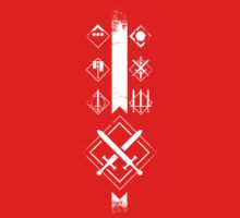 Destiny - Crucible Symbol Distressed  by PPWGD