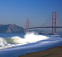 golden gate bridge, san francisco, usa by chord0