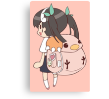 Monogatari – Snail Canvas Print