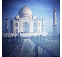 Plastic Taj Photographic Print