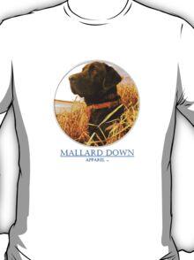 Mallard Down - Saw Grass Black Lab T-Shirt