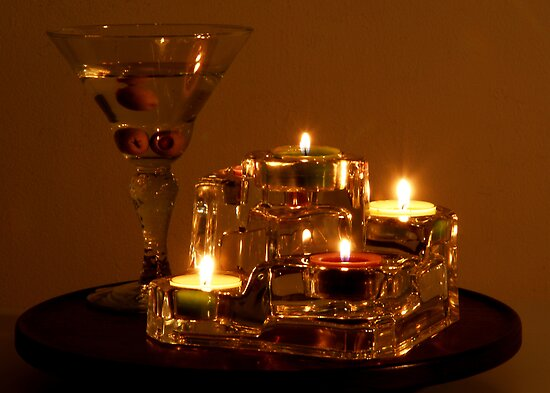 Candle Lights by Mariann Kovats