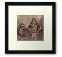 An Audience With The Hapless Framed Print