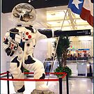 """Man"" on the Moooooo...N  !!            Houston Airport by Koala"