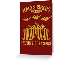 The Flying Graysons Greeting Card