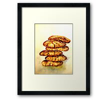 Delicious...Spicy Chewy Ginger Cookies Framed Print