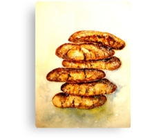 Delicious...Spicy Chewy Ginger Cookies Canvas Print