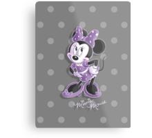 Miss Minnie Metal Print