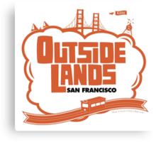 Outside Lands Design Canvas Print