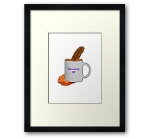 Beans in a Cup - Alan Partridge inspired Framed Print