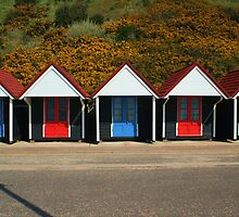 Bournemouth Beach Huts by RedHillDigital